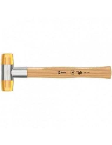 Wera 100 Schonhammer mit Köpfen aus Cellidor