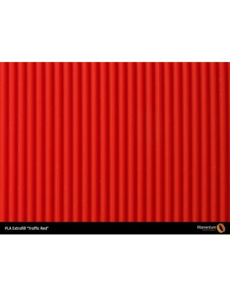 """PLA Extrafill """"Traffic Red"""""""