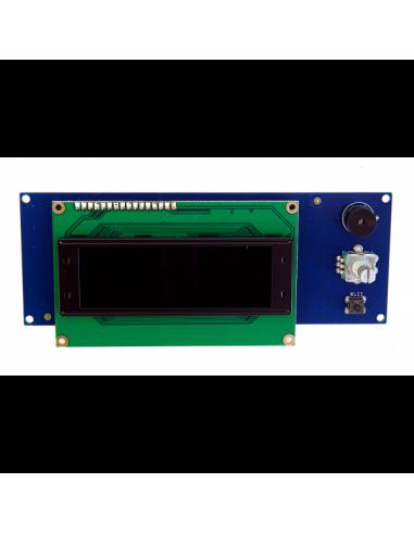 OLED Display 20x4 weiß / schwarz von LDO