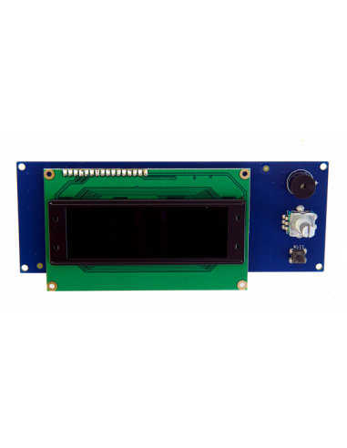 OLED Display 20x4 white / black by LDO