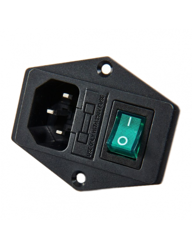Power switch with light