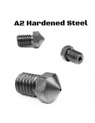 Microswiss Plated A2 Hardened Tool Steel Nozzle